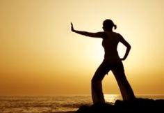 Sunset Yoga with Reflection